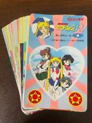 Comp Nissui 18 Species Sailor Moon Seal Fashionable Stickers Card No.2236