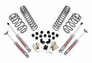 Rough Country 3.75 Suspension/body Lift Kit For Jeep Wrangler Tj 4wd 647.2