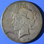 1926 Peace Dollar 90 Silver Us Coins Us Paper Money