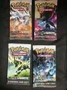 Pokemon Cards Sealed Black And White Base Booster Pack