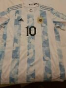 Lionel Messi Signed Argentina 2021/2022 Jersey + Proof + Coa