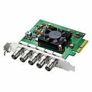 Blackmagic Design Decklink Duo 2 4ch Sdi Playback And Capture Card... From Japan