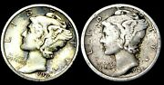 1920-s 1925-s Mercury Dime Silver Lot ---- Nice Coin Lot ---- P371