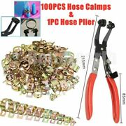 Clamp Fastener Spring Clips Fuel Oil Water Hose Clip Pipe Tube Pliers 6-20mm