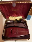 Gem-lectric Shaver Produced By American Safety Razor Corp With Box And Guarantee
