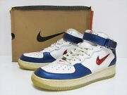 Nike Air Force 1 Vintage 1997 Mid Independence Day 630258-161 Us 11.5 Ds New