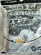 Fits Jeep Wrangler - Only In A Jeep - Logo Spare Tire Cover - 31 Inch - Size C