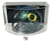 Curved Acrylic Wall Mount Full Sized Football Helmet Display Case Uv Protecting