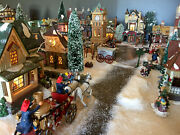 The Ultimate Deal For Department 56 Dickens Village Collection Over 130 Pieces