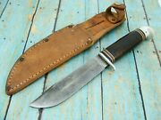 Vintage Western Boulder Colo W46 Baby Shark Fixed Blade Bowie Knife Knives