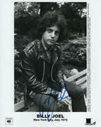 Billy Joel Signed Autograph 8x10 Photo - The Stranger, Piano Man, Music Legend