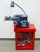 Ammco 7000 Rotor And Disc Brake Lathe W/ Nice Adapter Kit And Bench