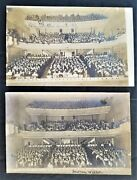 Lot 1908 Antique 2pc Rppc Dover Nj Opening Week Baker Theater