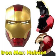 Iron Man Helmet Mask Gloves Wearable Fashion Model Figure Cosplay Props Toys Us