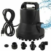 Sanimove ⅓ Hp Automatic On/off Water Removal Pool Cover Pump With Garden Hose Ad