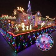 Led String Light Cute Waterproof Christmas Lights Holiday Light Lamp Decorations