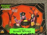 Lemax Spooky Town Halloween - Retired Witches 94966 Retired 2011 - Wbx Mint