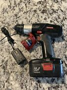 Used Craftsman 19.2-volt 3/8-in. Drill/driver Battery And Charger Set