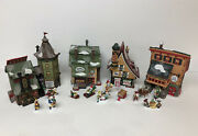 Department 56 Elves Collection. Includes Elfin Forge, Sleds And Skates, Snow Cone