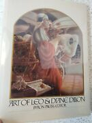 Art Of Leo And Diane Dillon/signed On Card By Author And Illustrators Hardback