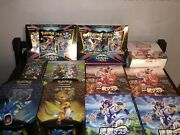 Massive Sealed Pokandeacutemon Lot Etbs Booster Boxes Tins And More