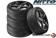 4 Nitto Invo 225/45zr18 91w Uhp Ultra High Performace Sport Traction Tires