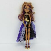 Monster High Clawdeen Wolf 13 Wishes Haunt The Casbah Doll W/ Outfit Accessories