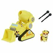Paw Patrol Rubbleandrsquos Deluxe Movie Transforming Toy Car With 3 And Up