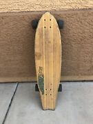 """Sector 9 West Oz 34"""" Bamboo Longboard 70mm Wheels Discontinued"""