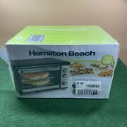 Hamilton Beach Countertop Oven With Convection And Rotisserie 31108 Brand New