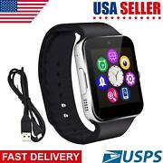 Bluetooth Smart Watch Unlocked Gsm Phone Watch For Samsung S9 Note 20 10 Plus Lg