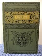 Rare Antique Book The Poetical Works Of Sir Walter Scott Crowell John Lovell
