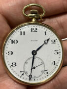 Rare 14k Gold Pocket Watch By Rode Watch Company