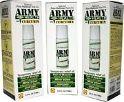 Army Health Roll On 100 Natural Curcumin Pack Of 3