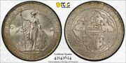 Great Britain Silver Trade Dollar 1930 Champagne Toned Uncirculated Pcgs Ms64