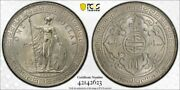 Great Britain Silver Trade Dollar 1930 London Uncirculated Pcgs Ms64