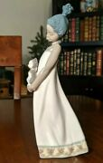 Lladro Collectible Close To My Heart Black Legacy Porcelain Figurinekitty Cat