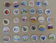 Lot Of 30 State Quarters Statehood Commemorative Painted Uncirculated 1999-2004