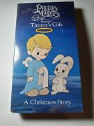 Timmy's Gift - A Precious Moments Christmas Story Vhs Animated
