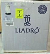 Lladro 1867 Flowers Of Peace Angel With Box