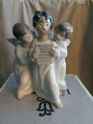 Lladro Angels Group. New In Original Box With Original Packing. 4542 Number
