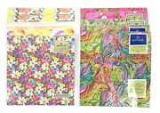 Hallmark Vintage Wrapping Paper All Occasion Floral Mother's Day Nos Lot Of 10