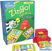 Zingo Sight Words Award Winning Early Reading Game For Pre-k To 2nd Grade - Toy