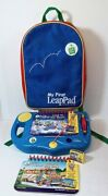 My First Leappad Learning System With Backpack With Leap To The Moon Cartrige
