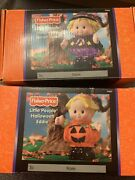 Fisher Price Little People Halloween Sarah Lynn And Eddie Character Spooky Sounds