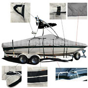 Searay 220 Sundeck Wakeboard Tower Trailerable Ski Boat Storage Cover