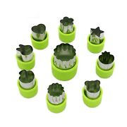 Lenk Vegetable Cutter Shapes Set,mini Pie,fruit And Cookie Stamps Mold,cookie...