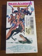 Rare First Press Sealed Police Academy 5 - Assignment Miami Beach Vhs 1988
