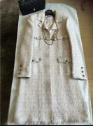 Tweed Coat 36 Long The Finest Free Shipping No.6154