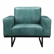 Moeand039s Home Modern Brock Arm Chair With Green Finish Qn-1015-36